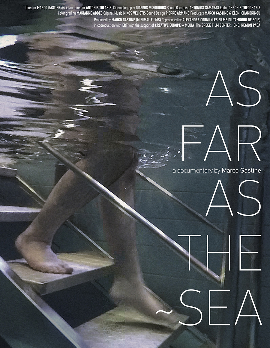 As Far as the Sea Poster