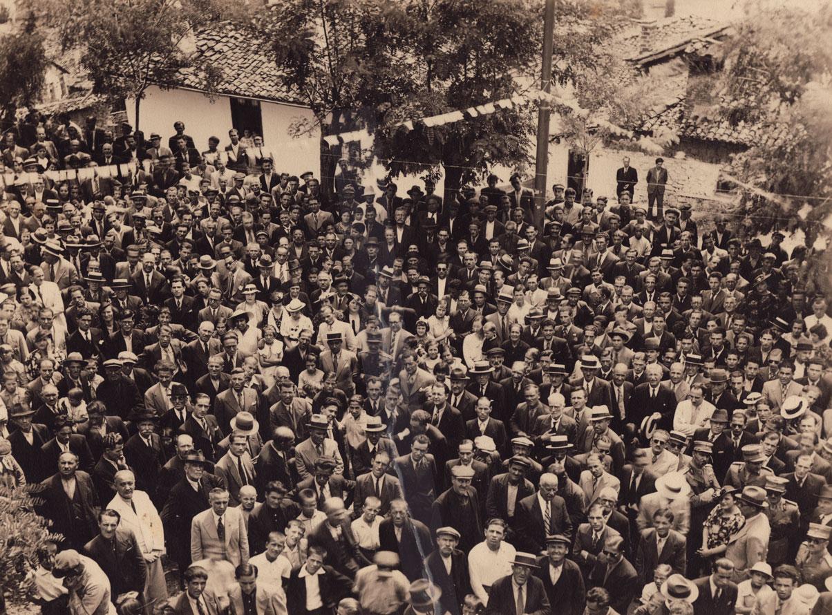 Crowd In Kastoria GREAT SHOT