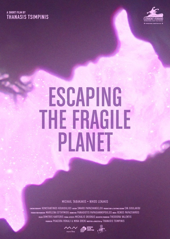 Escaping the fragile planet poster
