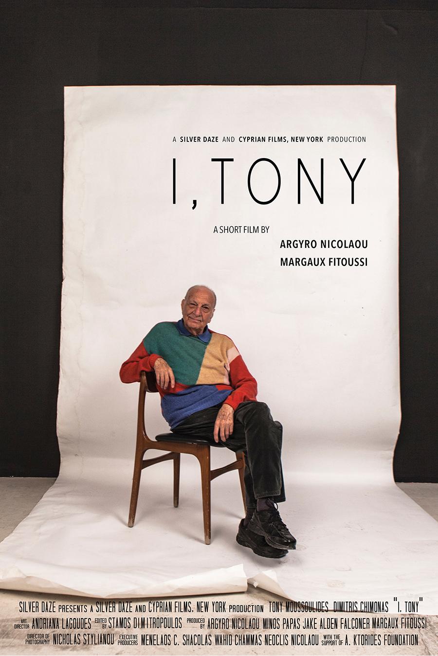 I Tony Poster
