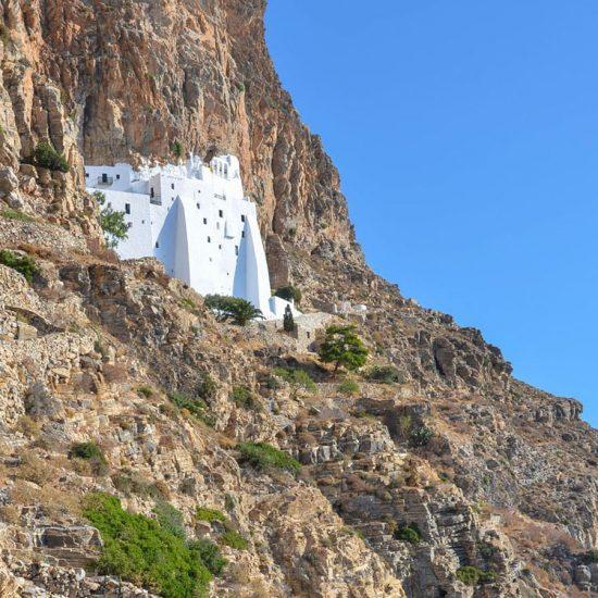 The Monastery of Hozoviotissa Amorgos Greece