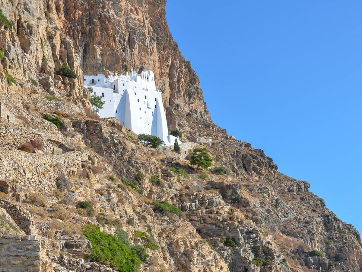 The Monastery of Hozoviotissa Amorgos Greece